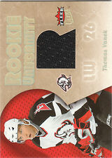 2005/6 Ultra Rookie Uniformity Thomas Vanek jersey RC Wild Sabres