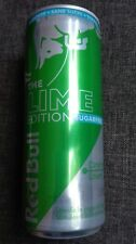 1 Energy Drink Dose Red Bull Lime Belgien Sugarfree Full 250ml Can Limoen IBEI01