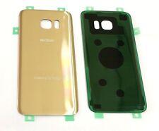 "Original OEM Back cover Glass For Samsung Galaxy S7 Edge Verizon G935V ""GOLD"" US"