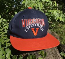 NEW VINTAGE VIRGINIA CAVALIERS GAME SNAPBACK HAT BASKETBALL UV COLLEGE BALL CAP