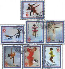 Paraguay 3609-3615 (kompl.Ausg.) gestempelt 1983 Vorolympische Winterspiele EUR