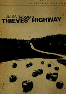 Thieves Highway DVD Criterion Collection - Jules Dassini Movie +INCLUDES BOOKLET