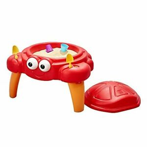 Step2 Crabbie Sand Table for Toddlers - Durable Outdoor Kids Activity Sandbx