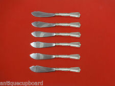 Chambord by Reed & Barton Sterling Silver Trout Knife Set 6pc Hhws Custom Made