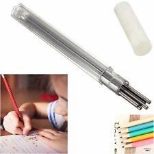 12 Tubes 2.0mm Automatique Crayon Craie Recharge mine Mécanique HB Pencil Refill