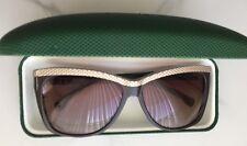 Lacoste Women's Butterfly Sunglasses Brown L697S