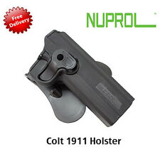 NEW NUPROL Retention Holster COLT 1911 Fits Airsoft WE KJ Works KSC Tokyo Marui