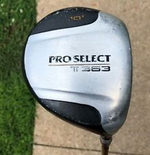 Pro Select Ti 363 Driver 10° / RH / ProFlex 78 / Soft Grip Golf Club