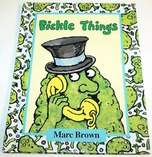 Pickle Things by Marc Brown (1980, Hardcover)