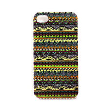 Hard Case For Apple iPhone 4 4S - Aztec Design 1