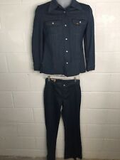 Vintage 70's Lee Jacket and Flared Pant Set Womens Size S-M