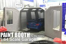 Paint Room / Spray Booth Model Car/Slot Car Scale Garage Workshop 1:64 S-Scale