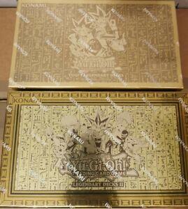 YuGiOh Legendary Decks 1&2 - UK REPRINTS - YGLD + LDK2 Exodia Slifer Oblelisk Ra