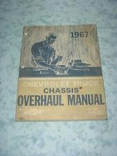 1967 Orig. Chevrolet Chassis Overhaul Shop Manual Chevelle Corvette Nova Camaro