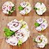 Romantic 5 Heads/Bunch Artificial Fake Peony Silk Flower Hydrangea Wedding Decor