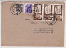 Briefmarken der DDR (1960-1970) mit Bedarfsbrief-Erhaltungszustand aus der DDR