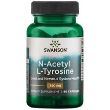 Swanson N-Acetyl L-Tyrosine 350 mg 60 Capsules