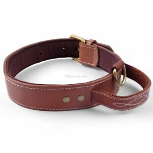 Quick Control Dogs Collar With Handle Soft Inside Padded Collars Pet Accessories