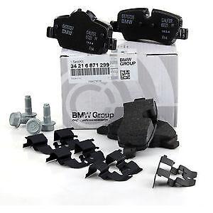 Rear Brake Pad Set Genuine Mini Cooper F56 F55 F57 Cabrio One JCW 34216871299