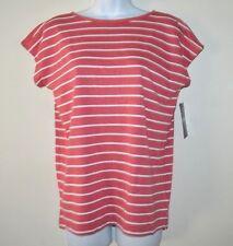 CHAPS Women's Knit Top Stripe Shirt Size S/P $49