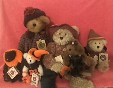 Boyds Bears ~ Wonderful Autumn Box ~ Lot of 6~ Excellent Condition w/ Tags SALE