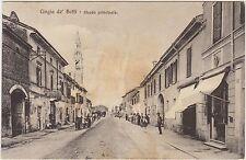 CINGIA DE' BOTTI - STRADA PRINCIPALE (CREMONA) 1917