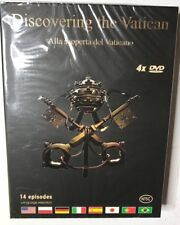 Discovering The Vatican - 2006 4 DVD Set 14 Episodes Brand New in package