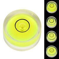 5PCS Circular Bubble Spirit Level Fluorescent Green Circle Round Tool for Tripod