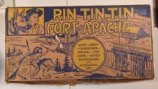 Vintage 1950s Marx Rin Tin Tin at Fort Apache Original BOX ONLY!!!