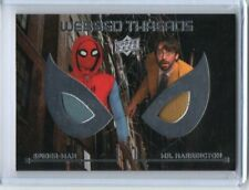 2017 UPPER DECK MARVEL SPIDER-MAN HOMECOMING DUAL WEBBED THREADS RELIC#WTD6