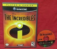 The Incredibles Disney Pixar  Nintendo GameCube Tested / Working Game
