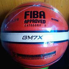New Molten Basketball GM7X PU Size 7 Indoor Outdoor Ball FIBA Men's Use