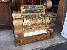 National Cash Register (1909) Brass Cash Register.