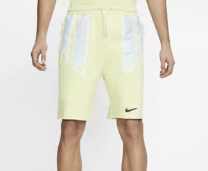 Size M Nike NikeLab x Pigalle Fleece Shorts Zipper Pockets Mens CI9952-335