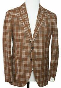 Orazio Luciano Napoli Wool~Silk Two-Button Sportcoat 36 (EU 46) Kiton La Vera