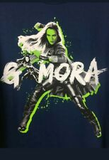 Guardians of the Galaxy Gamora Blue T Shirt Comic Movie Memorabilia Gift Present