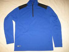 Izod PerformX Long Sleeve Shirt Blue men's Small Training Athletics