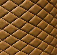 Vinyl Leather Faux vinyl Desert Quilted auto headliner headboard fabric by yard