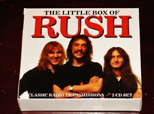 Rush The Little Box Of Rush 3 Cd Box Set 2020 The Broadcast Archive Bscd6129 New