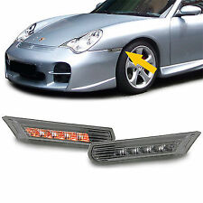 SMOKED LED INDICATORS FOR PORSCHE 911 996 & BOXSTER 986 NICE CHRISTMAS GIFT V2