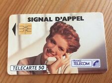 Collectable Phone Card France Signal d'Appel France Telecom Telecarte