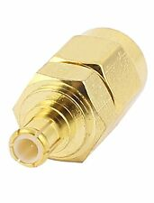 SMA Male to MCX Male Jack Straight Coaxial RF Connector Adapter USA