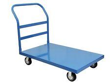"BenchPro Heavy Duty Steel Platform Cart 24""D x 30""W 3,000 Lbs Capacity Blue"