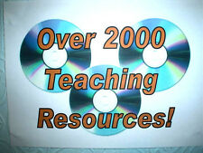 ALL- OVER 2000- OF MY VERY HIGH QUALITY TEACHING RESOURCES -A LIFE TIME'S  WORK!