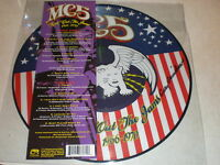 MC5 PICTURE DISC Kick Out The Jams AUTOGRAPH BY GARY GRIMSHAW