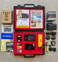 tested+ full BRIEFCASE kit & COOL extras NIKON L35AF2 35mm film camera L35AF 2