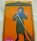 WITCH GIRL COSTUME PLUS 10.5 12.5 HALLOWEEN RE-SHIPG CO BIDS WILL BE CANCELLED