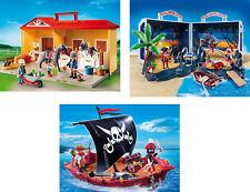 Playmobil - Reiterhof, Schaufenster-Ware, 5348 + 5348 und 5298