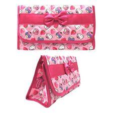 Sanrio Hello Kitty X Little Twin Stars Nylon Fabric Cosmetics Bag - Pink