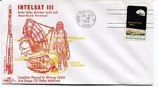 1969 Intelsat III Radio Relay Earth Moon-Bound Astronauts Satellite Canaveral